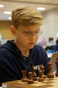 Tobias Lang-Nilsen. FOTO: Foto: Anniken Vestby, sjakknm2016.no