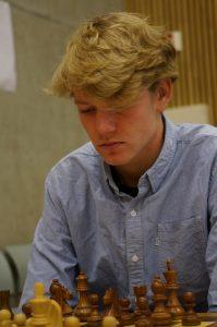 FM Benjamin Haldorsen. FOTO: Foto: Anniken Vestby, sjakknm2016.no