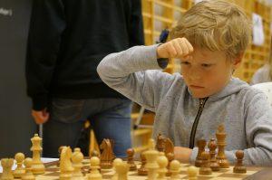 Aksel Bu Kvaløy. FOTO: Foto: Anniken Vestby, sjakknm2016.no